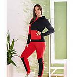 Спортивный костюм Minova 1223-красно-черный, фото 2