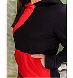 Спортивный костюм Minova 1223-красно-черный, фото 3