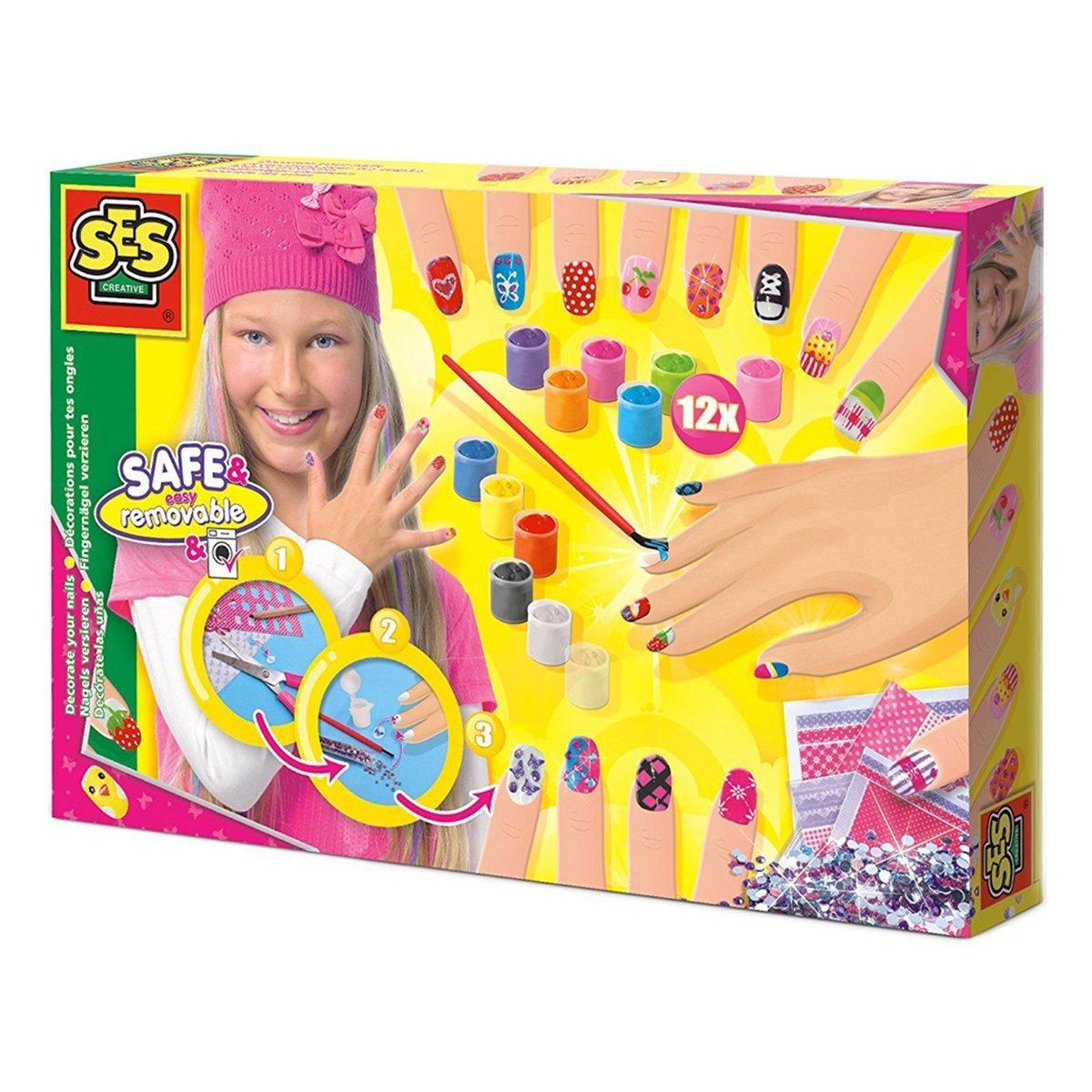 Игровой набор для юного нейл-арт мастера Ses Модница 014975S ТМ: SES