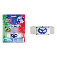 Светящийся браслет супергероя PJ Masks Кэтбой 120039 ТМ: PJMasks
