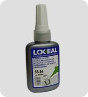 Фиксатор резьбы LOXEAL 86-54, высокая прочность, для зазоров до 0,3 мм, 50 мл