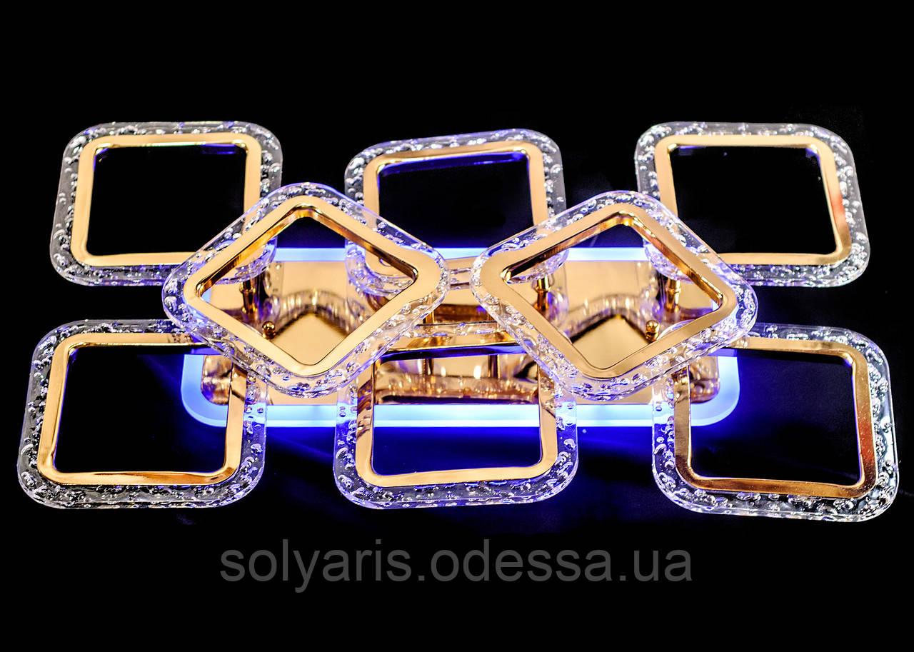 Люстра светодиодная MX2517-6+2S FG (золото)