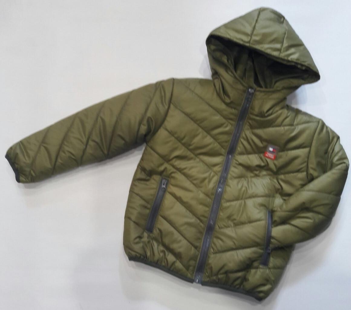 Детская куртка на мальчика 116-140 см