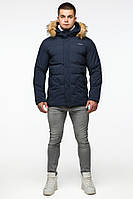 Зимняя качественная куртка Braggart Youth 25780 синяя