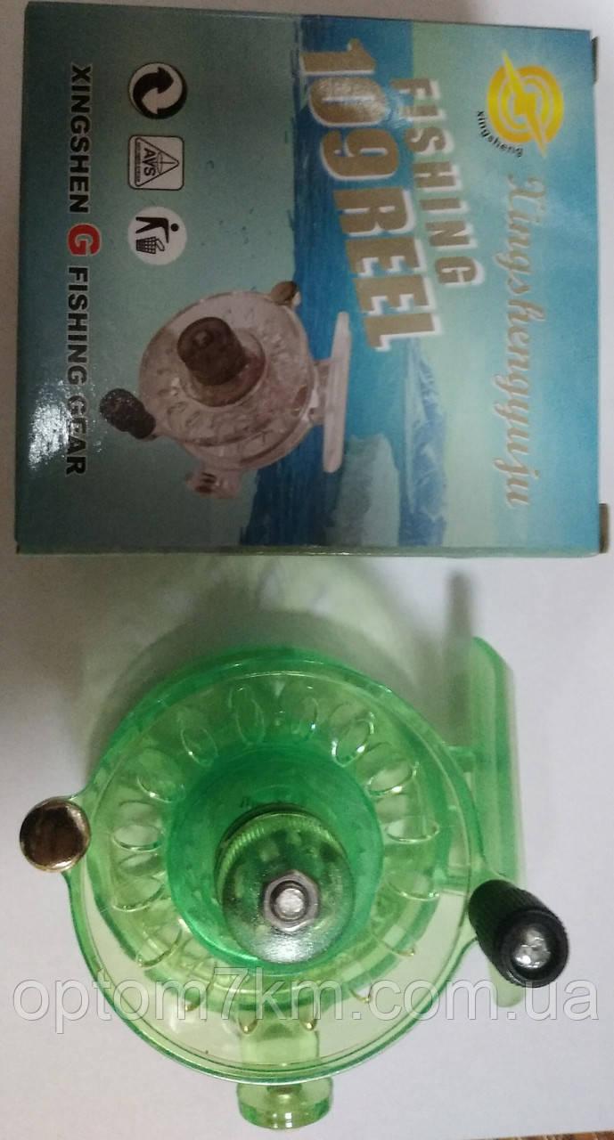 Катушка инерционная Fishing 109 reel пластик