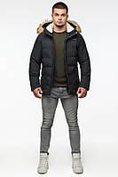 Зимняя удобная мужская куртка Braggart Youth 25780 черный