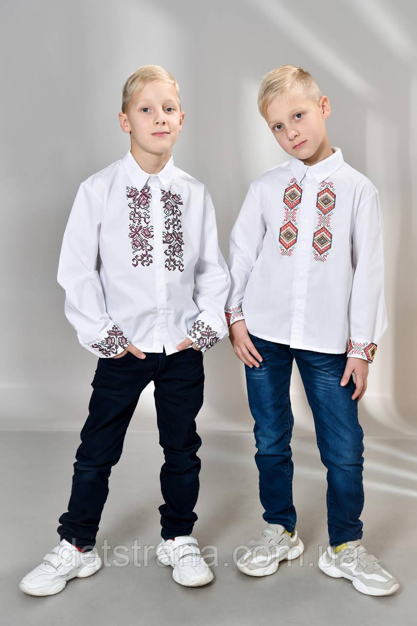 Детская рубашка вышиванка украинская для мальчика