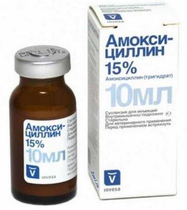 Амоксициллин 15%  Invesa
