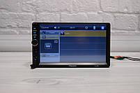 Автомагнитола Pioneer 7018B Bluetooth 2 DIN с 2 пультами (обычный и на руль)(Пионер) короткая база + ПОДАРОК, фото 6