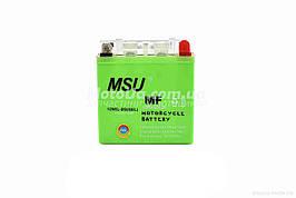 Акумулятор 5A 12V (12N5L-BS) MSU гелевий - високий 120x60x130