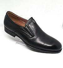 """Туфли мужские модельные в деловом стиле от бренда """"Boss Victori"""" (Китай фабричный). 44"""