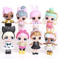 Кукла Лол в наборе 8 штук, кукла L.O.L