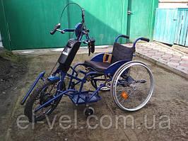 Переоборудование инвалидной коляскиc MXUS ZWG XF08R 36В 350Вт; RЕ36132 36В 13,2Ач; LCD-5U