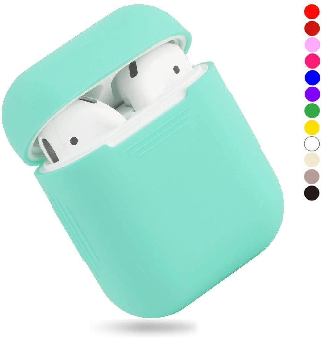 Чехол для наушников Silicone Case for AirPods - Color Mint