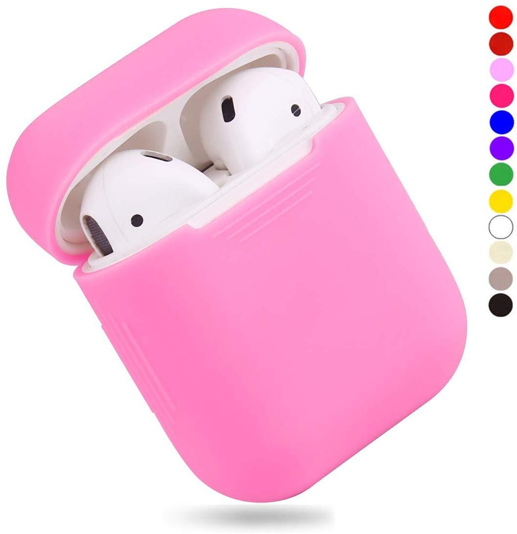 Чехол для наушников Silicone Case for AirPods - Color Pink