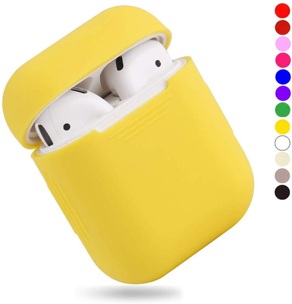 Чехол для наушников Silicone Case for AirPods - Color Yellow
