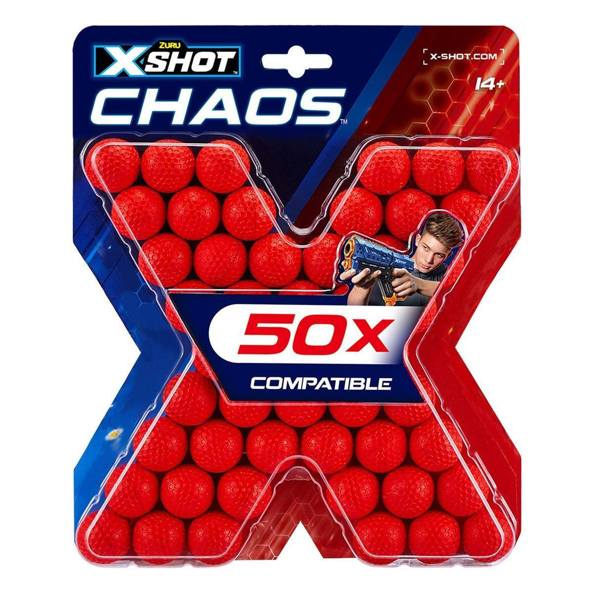 Набор шариков Zuru X-Shot Chaos 50 шт 36327Z ТМ: ZURU