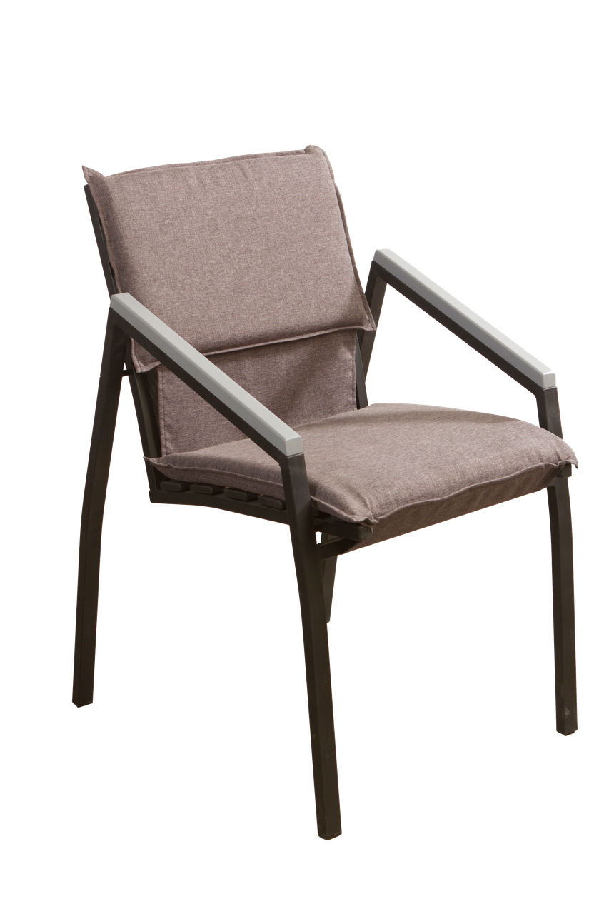 "Кресло для кафе Микс-Лайн ""Парма"" Серый"