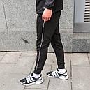 Спортивные штаны мужские черные от бренда ТУР модель Рейн (Rain), фото 2