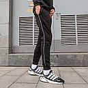 Спортивные штаны мужские черные от бренда ТУР модель Рейн (Rain), фото 3