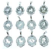 Знаки зодиака фирмыXuping/ 12шт/ Цвет: серебряный. Диаметр: 2,5 см.