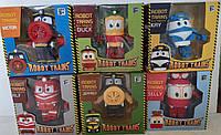 Роботы поезда Robot Trains Набор из 6 штук Кей, Альф, Селли, Утенок, Виктор, Джеффри