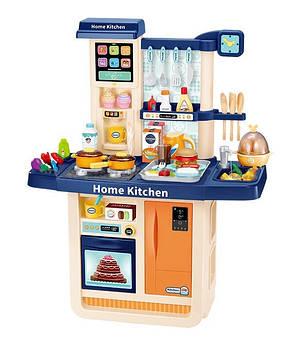 Детская большая интерактивная кухня VD WD-R31 синяя 86 см с водой и световыми звуковыми эффектами
