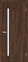 """Двери межкомнатные ОМиС """"Техно Т01"""" дуб Такома + стекло (Natural Look) (600,700,800,900 мм)"""