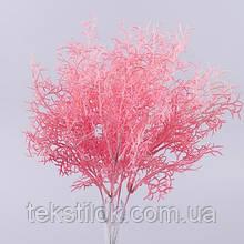 """Букет травка """"кораллы"""" розовый зелень искусственная"""