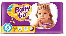 Подгузники Baby Go Midi размер 3 (4-10 кг), 40 шт.