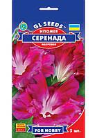 Насіння Іпомея махрова Серенада 5 шт GLSeeds