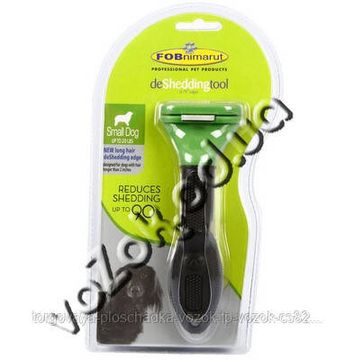 Фурминатор для маленьких собак с длинной шерстью FURminator Long Hair Small Dog deShedding 4,5см c кнопкой