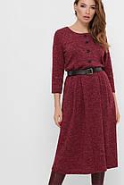 Ангоровое женское платье большого размера,  размер 48-54, фото 2