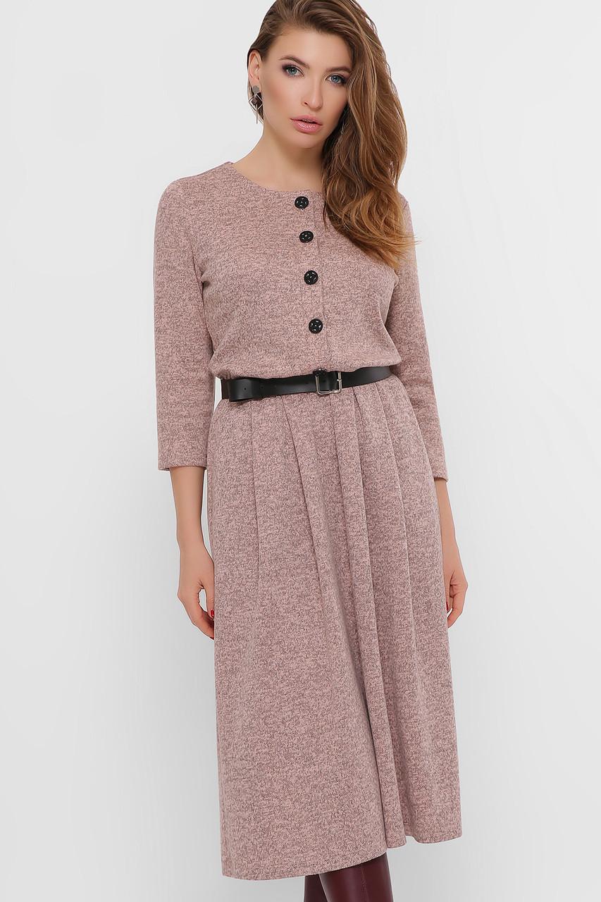 Ангоровое женское платье большого размера,  размер 48-54