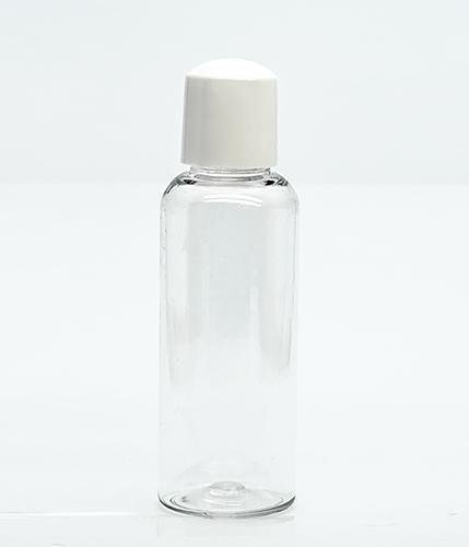 Флакон косметический прозрачный (бутылочка) крышка колпачек, 100 мл.