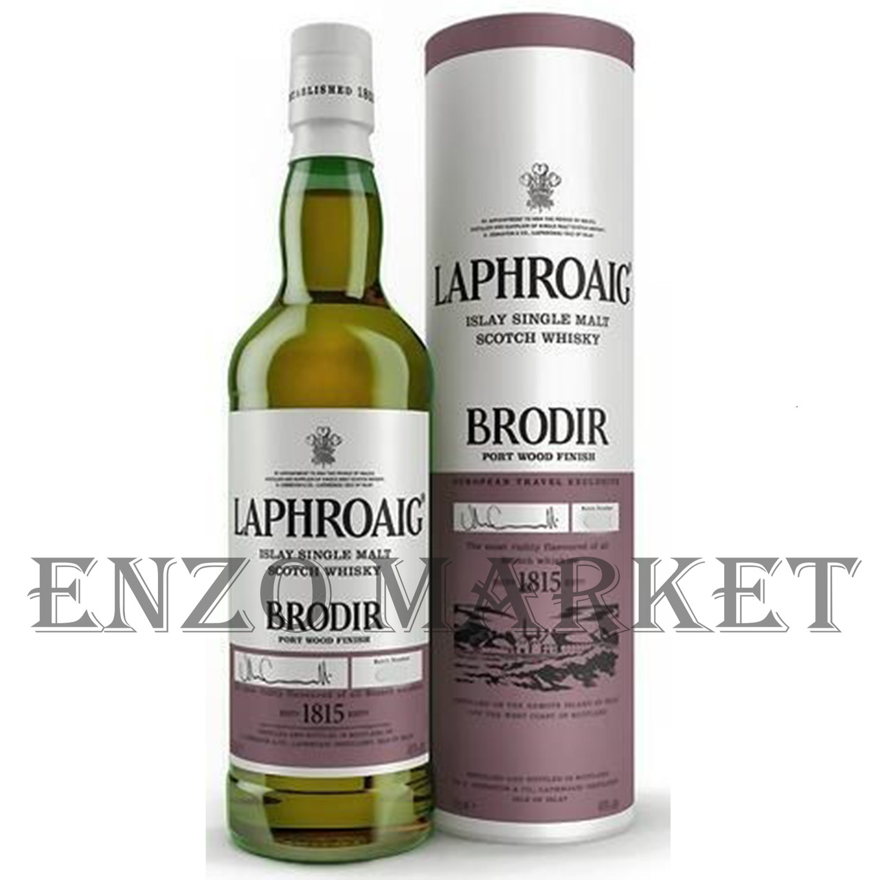 Виски Laphroaig Brodir, Port Wood Finish (Лафройг Бродир, Портвуд Финиш) 48%, 0,7 литра