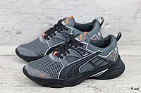 Мужские кроссовки Puma (Реплика) (Код: П сер  ) ►Размеры [40,41,42,43,44,45], фото 1