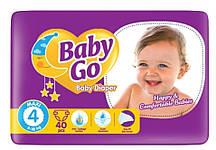 Подгузники Baby Go Maxi размер 4 (9-18 кг), 40 шт.