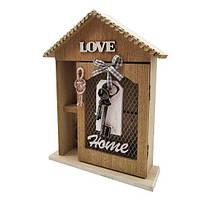 """Настенная ключница """"Любимый дом"""", деревянная красивая ключница, декор для дома"""