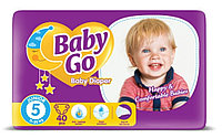 Подгузники Baby Go 5 Junior (11-25 кг), 40 шт.