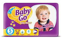 Подгузники Baby Go Juniorразмер 5 (11-25 кг), 40 шт.