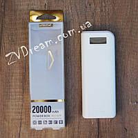Портативная батарея Proda 20000mAh White, фото 1