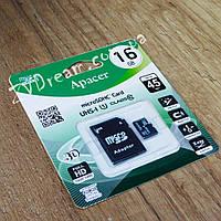 Карта памяти MicroSD Apacer с адаптером 10cl 16Gb