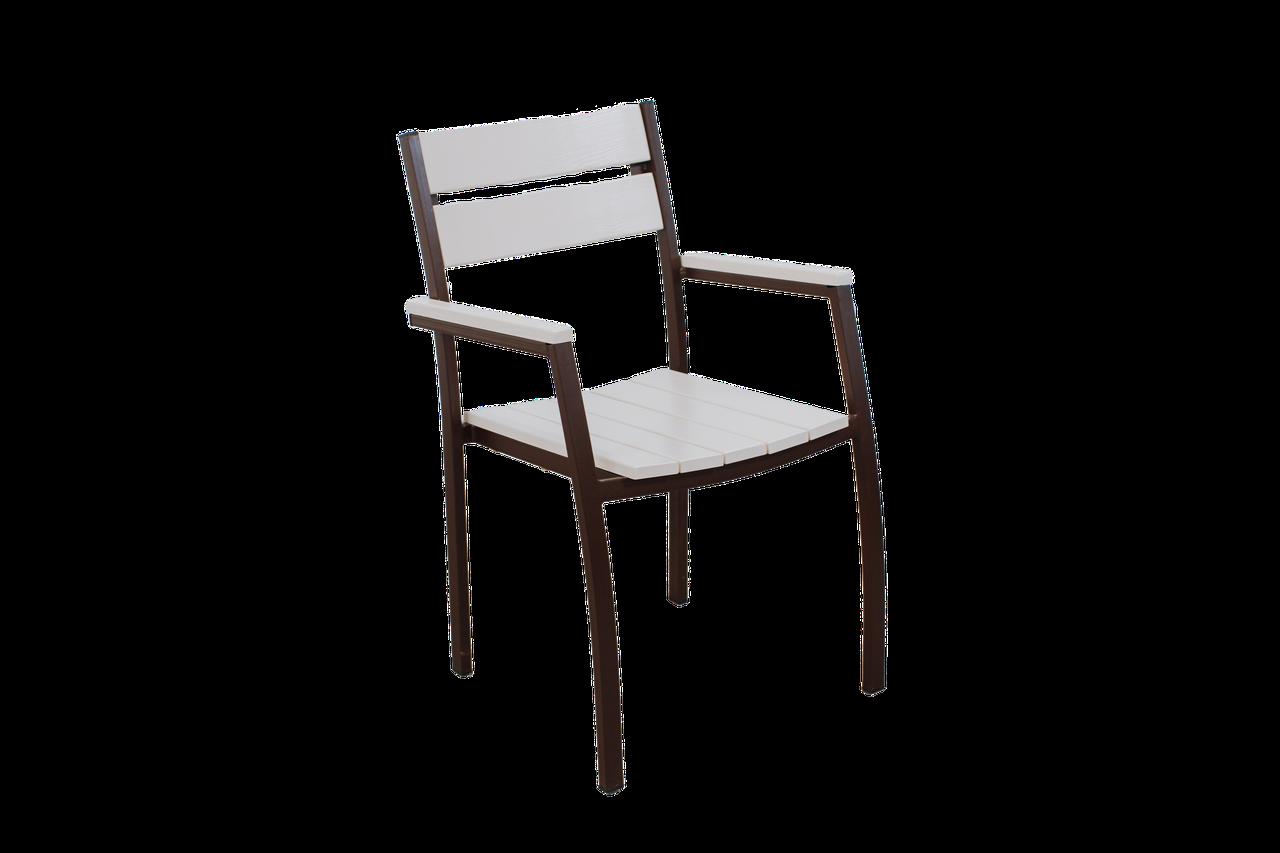 """Кресло для кафе Микс-Лайн """"Стелла"""" Белый"""