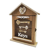 "Настенная ключница ""Keys"", деревянная красивая ключница, декор для дома"