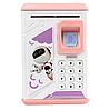 Копилка - сейф BodyGuard с кодом и отпечатком пальца Розовая, фото 3