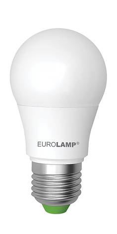 LED Лампа EUROLAMP EKO A50 7W E27 4000K, фото 2