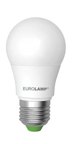 LED Лампа EUROLAMP EKO A50 7W E27 3000K, фото 2