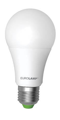 LED Лампа EUROLAMP EKO A60 10W E27 4000K, фото 2