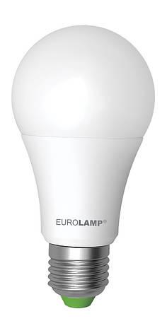 LED Лампа EUROLAMP EKO A60 12W E27 3000K, фото 2